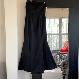 NWT Laundry by Design black mermaid gown